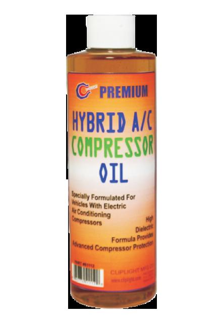 Cliplight Hybrid A C Compressor Oil
