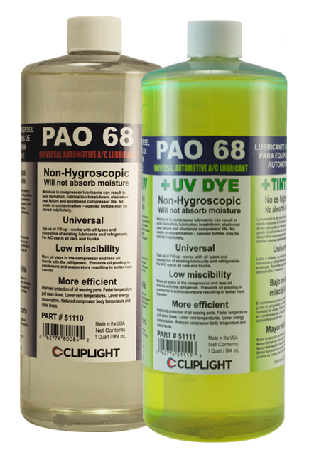 Cliplight Pao 68 Oil Universal Synthetic Lubricant